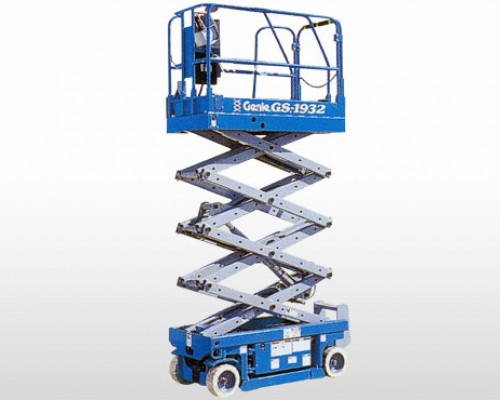 Electric vertical self-propelled platforms